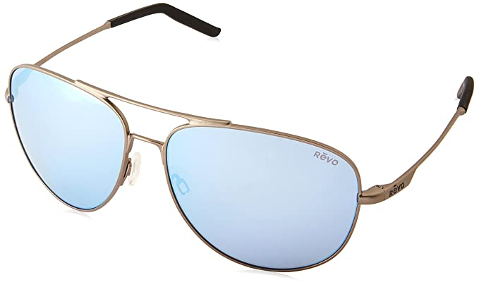 a1cde8fbe16 Image Unavailable. Image not available for. Color  Revo Unisex Unisex RE  1072XL Windspeed Oversized Aviator Polarized Sunglasses
