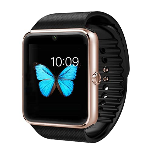 Smart Phone Watch with Pedometer Calorie Burned Fitness Activity Monitor Smart Health Wrist Watch Phone for Android Samsung HTC LG SONY (Full Functions) IOS iPhone 5/5s/6/plus(Partial functions)