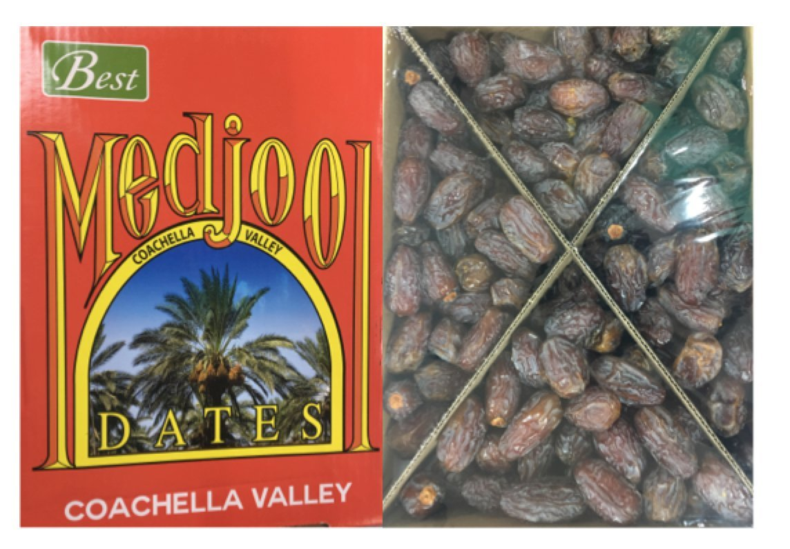 Fresh Medjool Dates (11 lb Box)