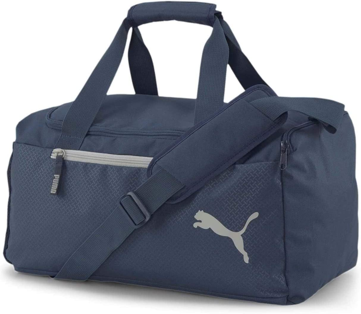 PUMA Fundamentals Sports Bag M Sporttasche Tasche Dark Denim