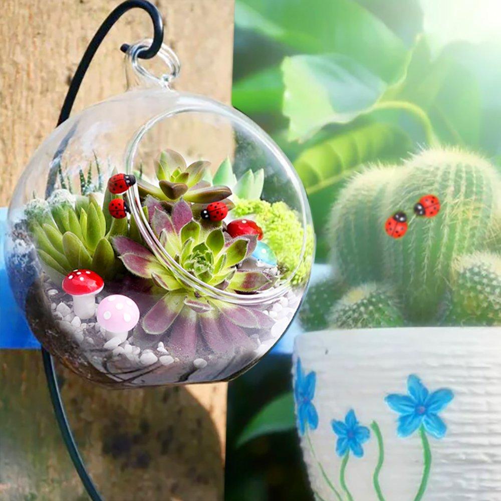 56 Pieces Fairy Garden Accessories Miniatures Ornaments Kit for DIY Dollhouse Decor