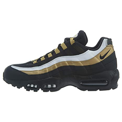 Nike Air Max 95 Og BlackBlack metallic Gold Whit: Amazon