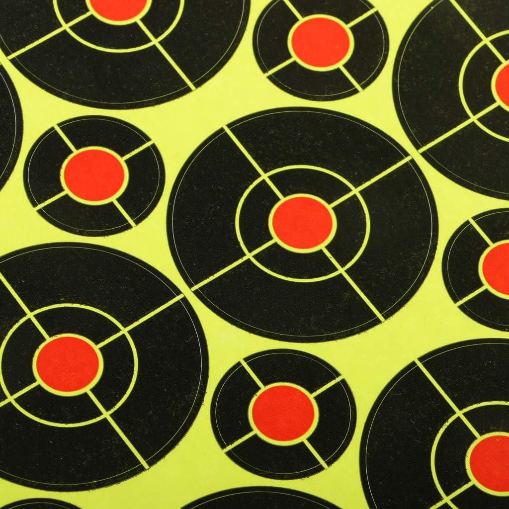 Bogenschie/ßen FLAMEER 410 St/ücke Selbstklebende Zielaufkleber F/ür Schie/ßen