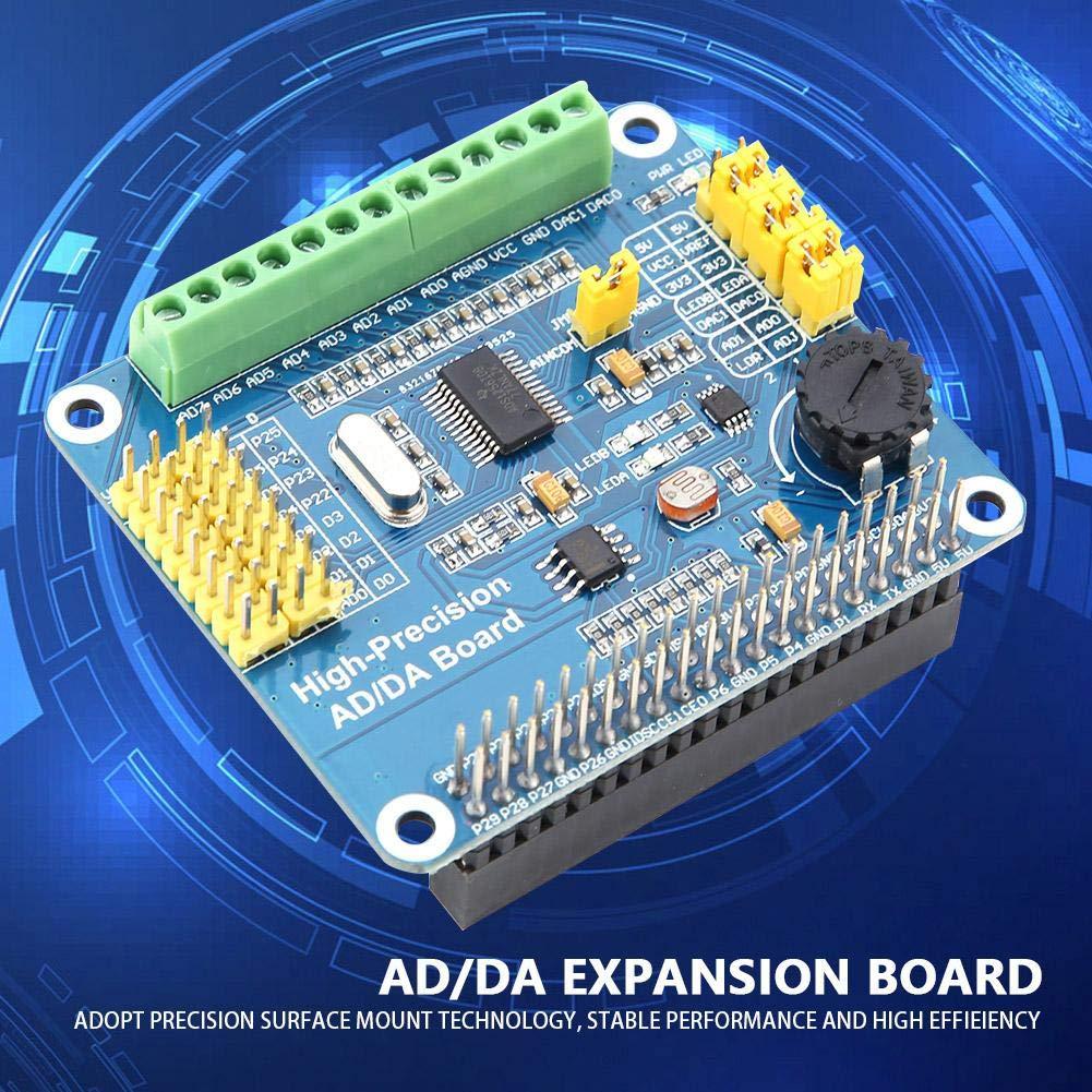 Raspberry Pi AD//DA Expansion Board High Precision for Raspberry Pi A+//B+//2B//3B//3B+