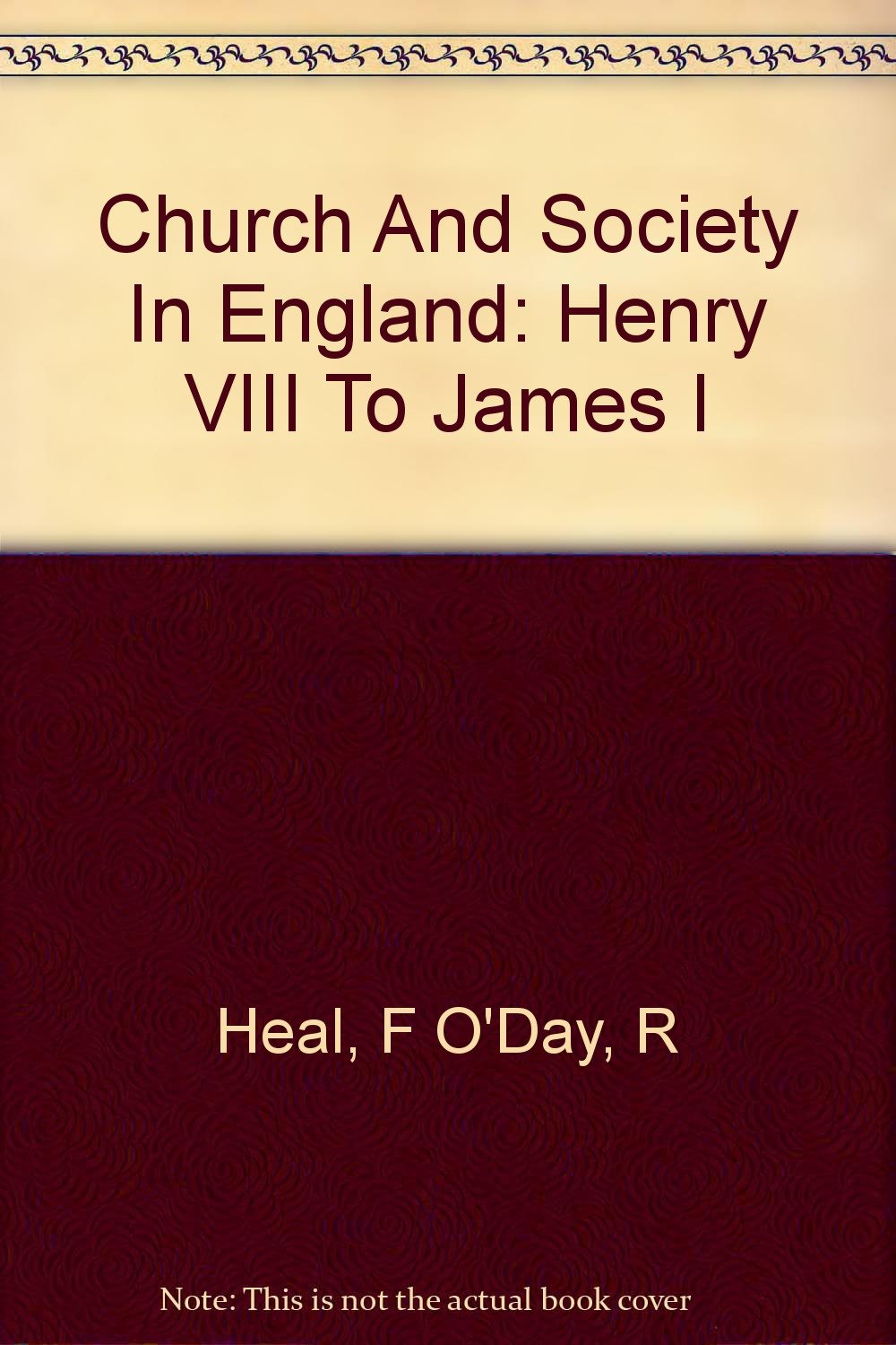 The Kings of England: 1509 to 1820