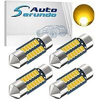 Serundo Auto DE3175 Led Car Bulb 31mm 1.22in Led Festoon Bulb, DE3021 DE3022 DE3023 6428 6430 7065 Led Festoon Bulb…