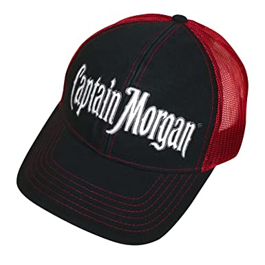 f13b4c67b1fd7 Image Unavailable. Image not available for. Color  Captain Morgan Trucker  Hat
