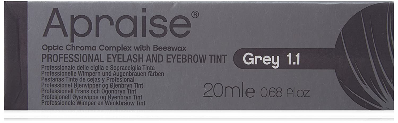 Apraise Eyelash and Eyebrow Tint, Grey Number 1.1 555554