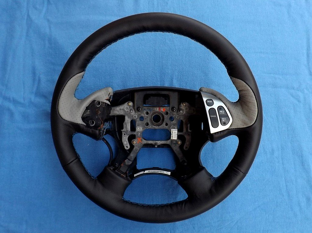 Amazon.com: RedlineGoods Acura TL 2004-08 cubierta del volante de: Automotive