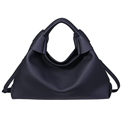 4f10340b94eb Saivan Lady s Large Handbags Zipped Shoulder Tote Bag Top Handle CrossBody  Bag with Removable Long Strap