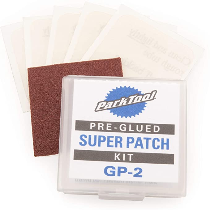 Park Tool GP-2 Super Patch Kit for Bicycle Tube Repair   Amazon
