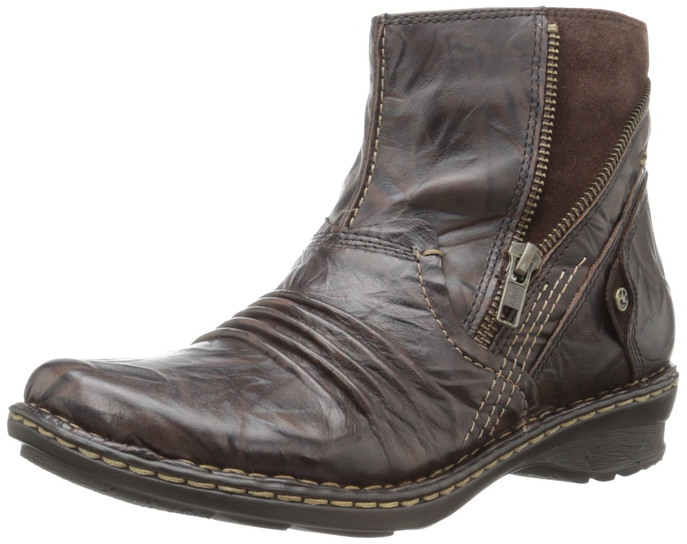 Earth Women's Poplar Ankle Boot B007PSLYAU 6 B(M) US|Dark Brown