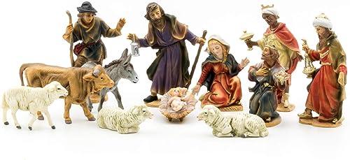Marolin Nativity Set 12 Figures Plastik MA741511