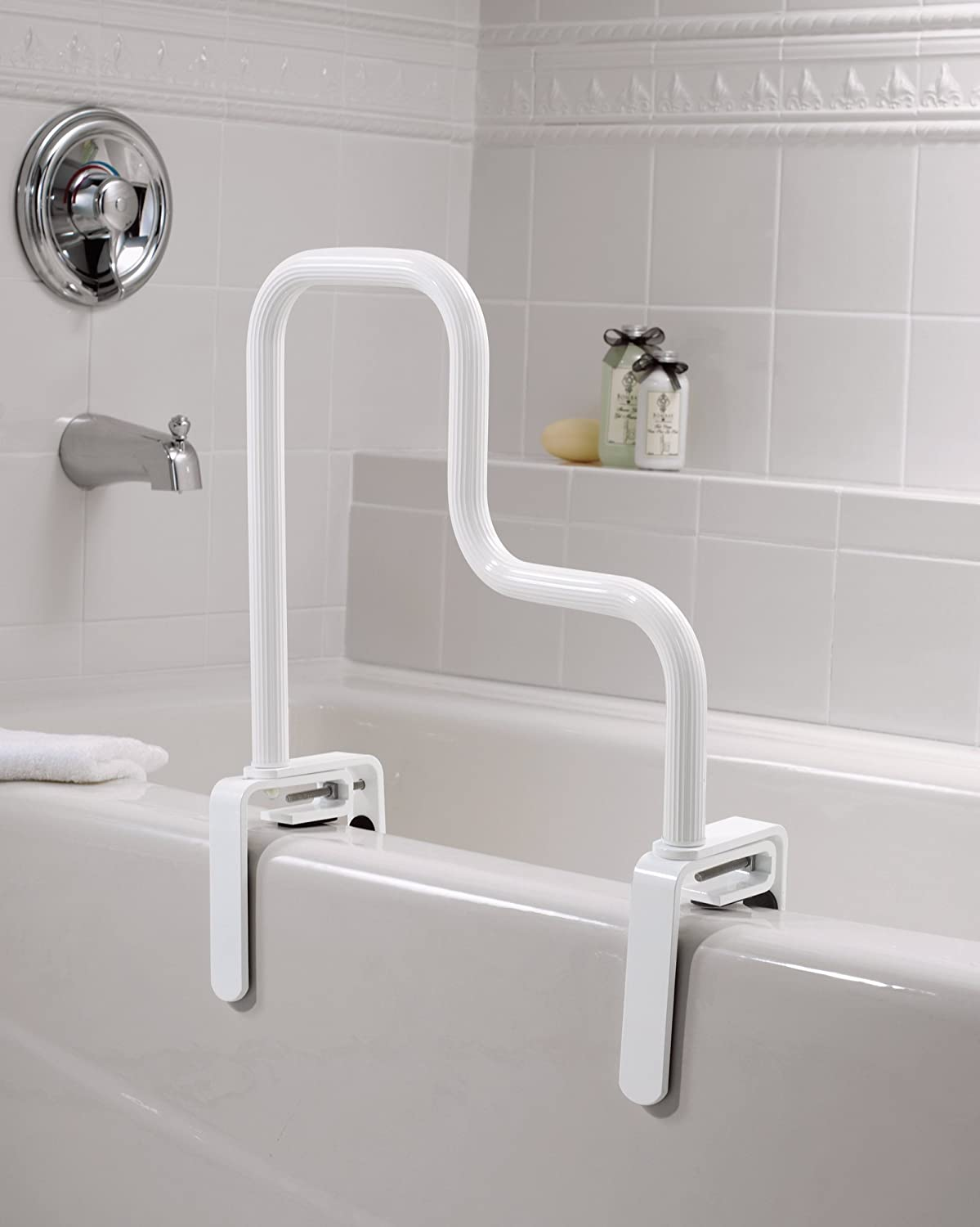 Moen DN7005 Home Care Multi Grip Tub Safety Bar (Glacier): Amazon.ca ...