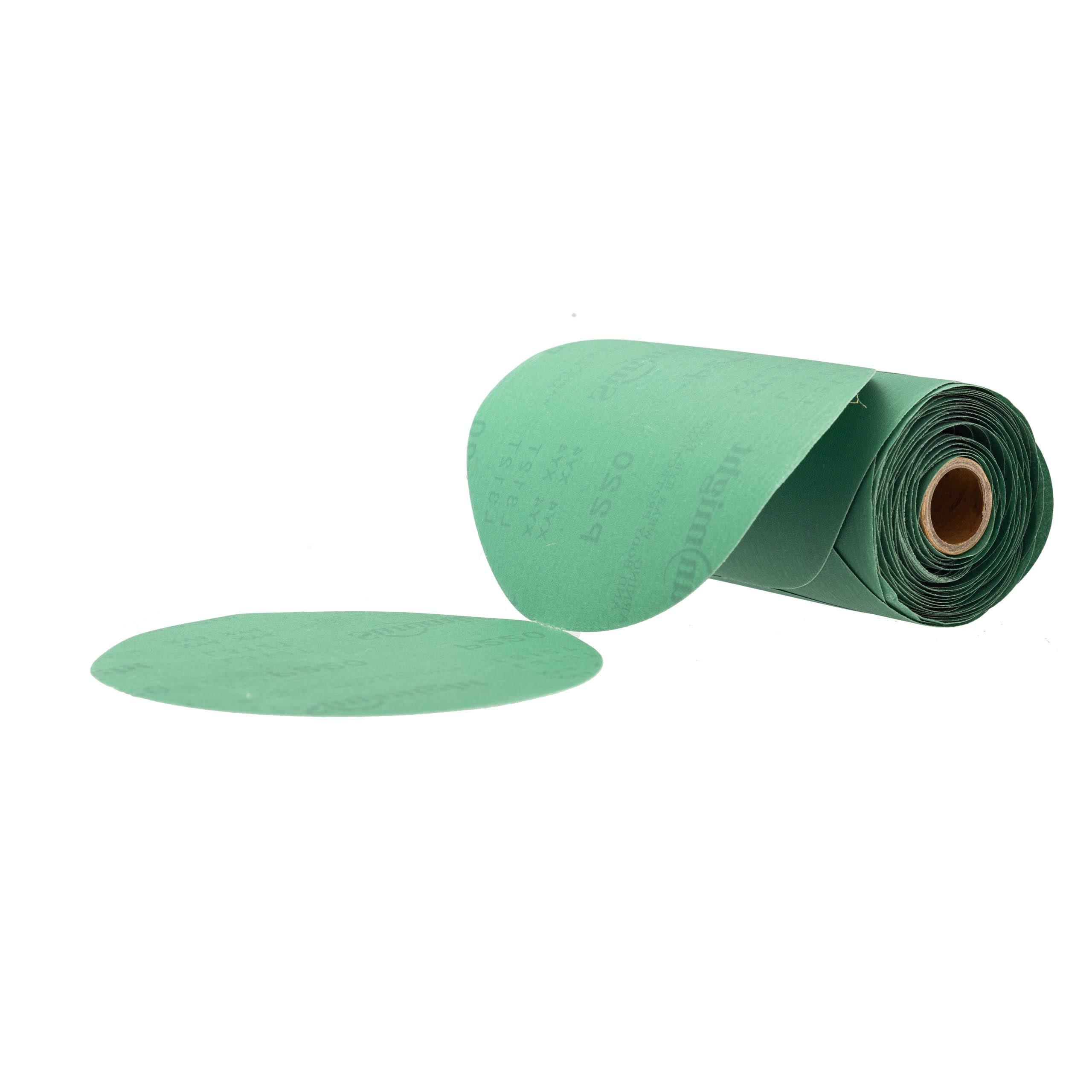 Sunmight 00510 6'' 180 Grit PSA Sanding Discs, 100 Pieces