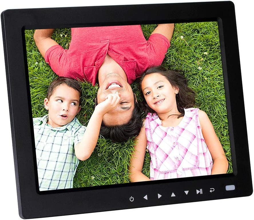 Tuuertge Digital Picture Frames 10 Inch Digital Photo Frame LED Display 4 Color : White, Size : 10 inch 3 HD Digital Photo Frame Display Photos Video Remove Share Moments Instantly
