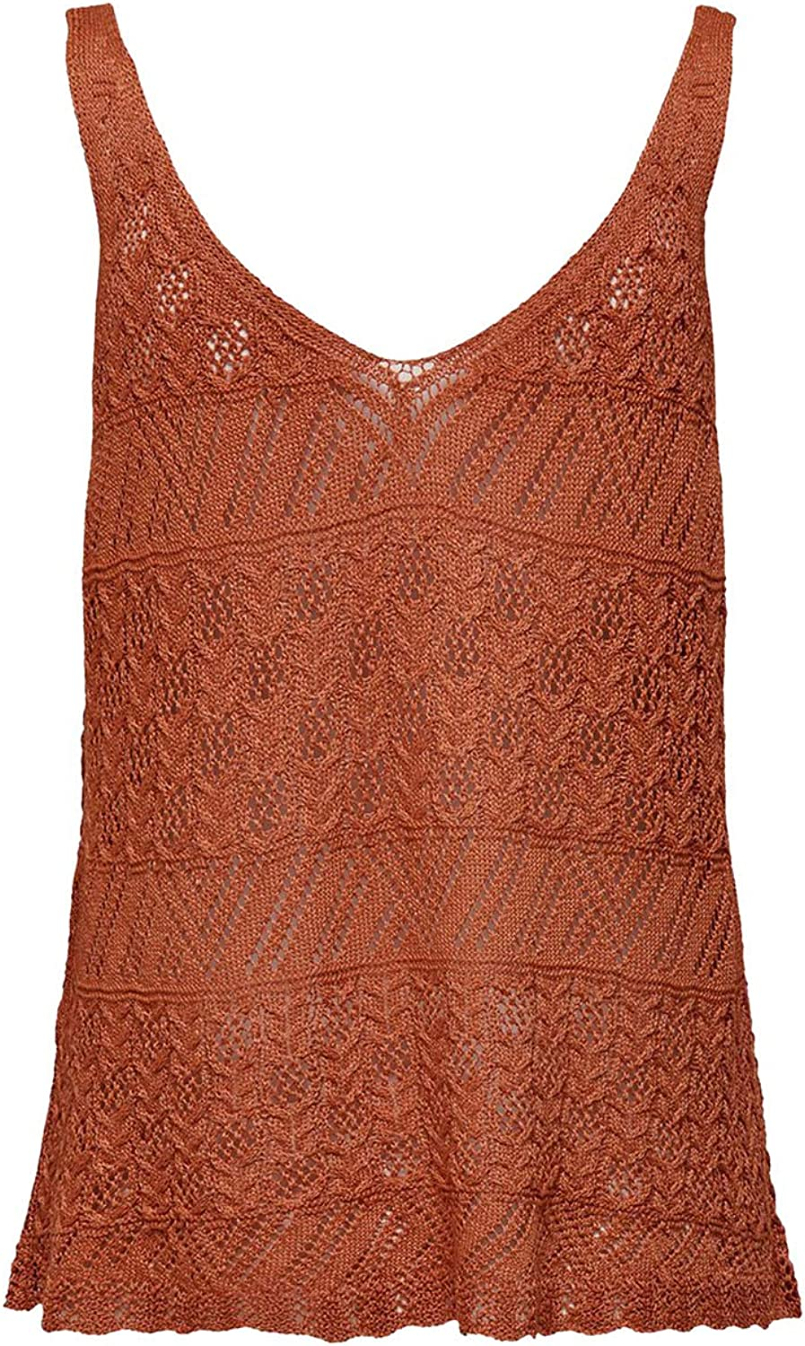 Only Womens Linessa Knitted Top Ecru