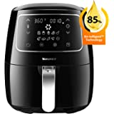 Air Fryer, Willsence 3.7-Quart 10-in-1 Intelligent Airfryer Electric Oil Free Hot Air Fryer XL Cooker with Cookbook and 50 Online Recipes, Touch Screen Control, Dishwasher Safe, Metal Inner Housing