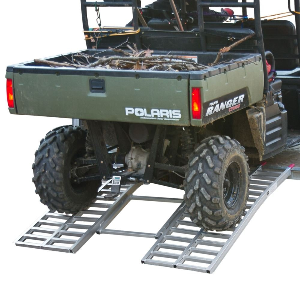 Black Widow ATF-6264 65' Wide Ride Master Arched UTV Trailer Loading Ramp Rage Powersports