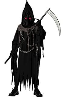 Adult Executioners Axe Handheld Halloween Horror Plastic Weapon Grim Reaper Arms