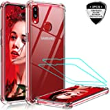 LeYi Samsung Galaxy A10S Case, Samsung A10S Case with 2 Tempered Glass Screen Protector, Shockproof Crystal Clear Hard…