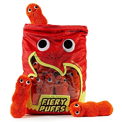 Kidrobot Yummy World Frye and The Fiery Puffs Extra Large Plush: Toys & Games