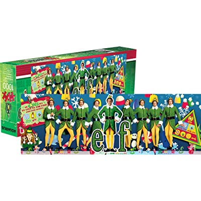 Aquarius Elf 1, 000 Pc Slim Puzzle, Multicolor: Toys & Games