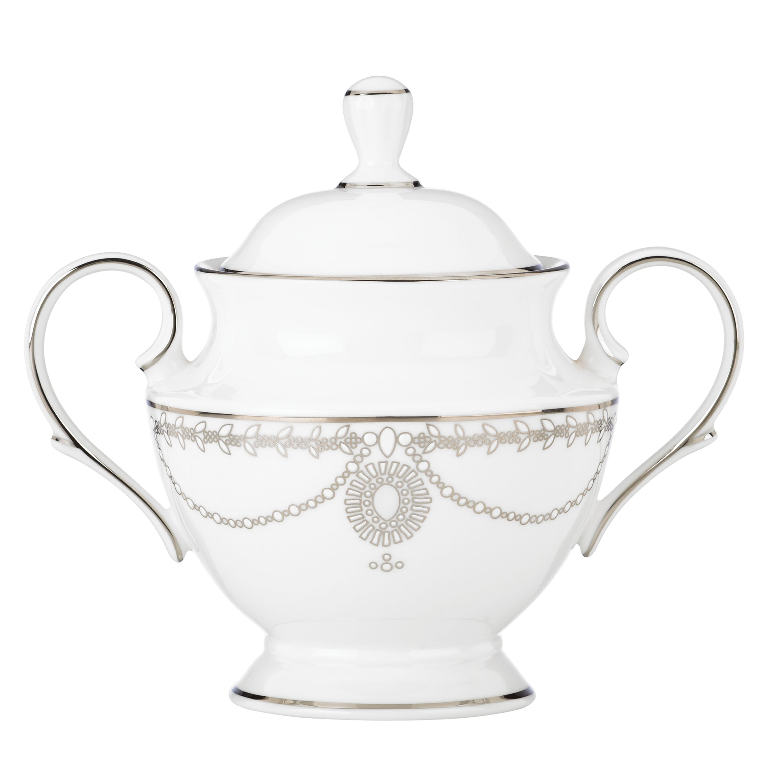 Lenox Marchesa Empire Sugar Bowl, Pearl