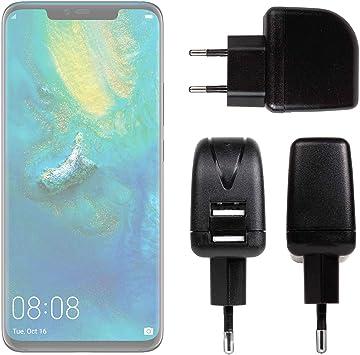 DURAGADGET Cargador con Enchufe Europeo para Smartphone Huawei Mate 20, Huawei Mate 20 Pro, Huawei Mate 20 X, Huawei Mate 20 RS: Amazon.es: Electrónica