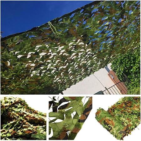Red de Sombra de Jardín, Malla de Camuflaje Verde 6x4m 10m Red de Camuflaje Protección Solar Toldos Solar Militar Velas para Camping Niños Caza Balcón Protecación Privacidad Planta Coche Fotografia: Amazon.es: Hogar
