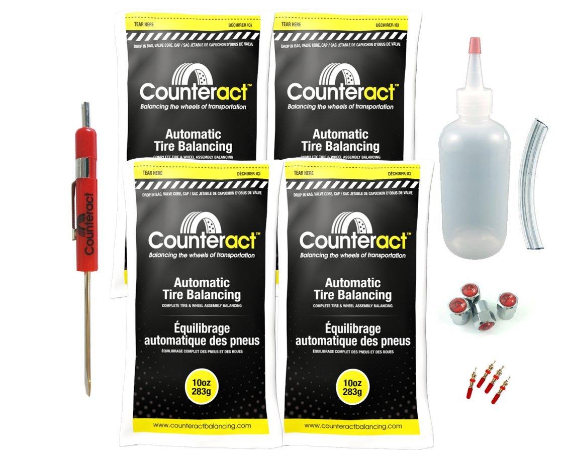 DIYK-10 Counteract Tire Balancing Beads Light Truck/Off-Road - 10oz DIY Kit (40oz) by Counteract