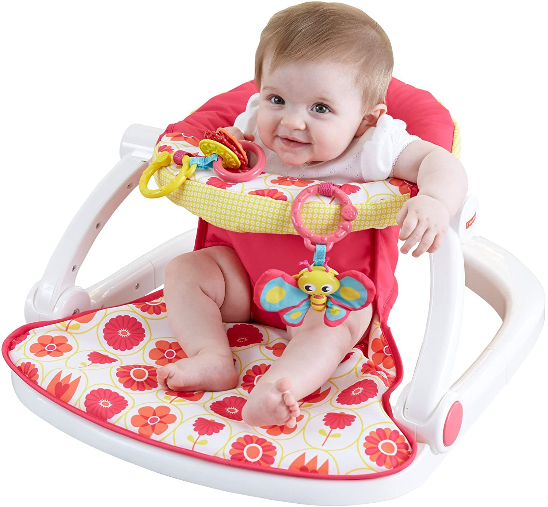 Amazon Fisher Price Sit Me Up Floor Seat Pink Baby