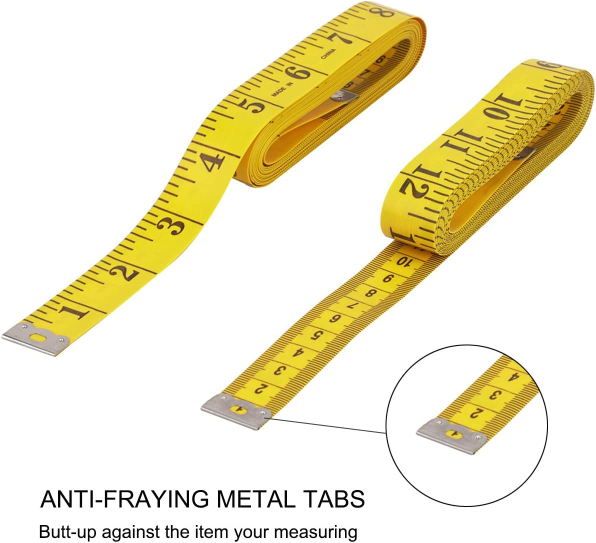 3M//10ft Soft Tape Measure for Sewing Tailor Cloth Flexible Ruler Weight Loss Measurement By Rely2016 3 PACK Soft Measuring Tape