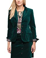 Comma Damen Samtblazer Regular Fit 81.309.54.7740 BLAZER