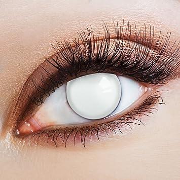 b34892ece8 Lentes de contacto coloreadas Big Round Eyes in weiß de Aricona – que cubren  las lentes