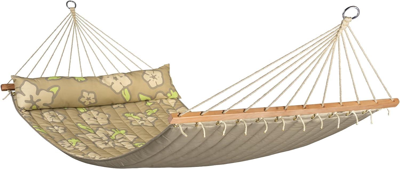 LA SIESTA - Hawaii Coconut - Hamaca con Barra Doble Acolchada