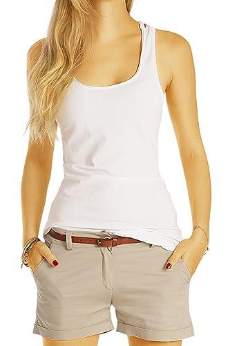 bestyledberlin - Camisas - Uni - Sin mangas - para mujer