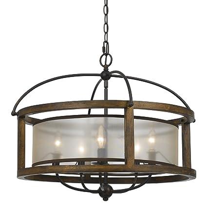 cal lighting fx 3536 5 five light chandelier amazon com