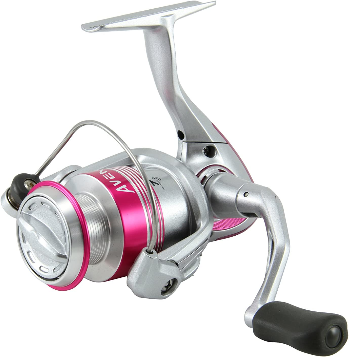 Okuma Avenger Ladies Edition Lightweight Pink Spinning Reel