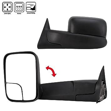 Amazon.com: JEILF Chevy GMC Silverado espejos laterales para ...