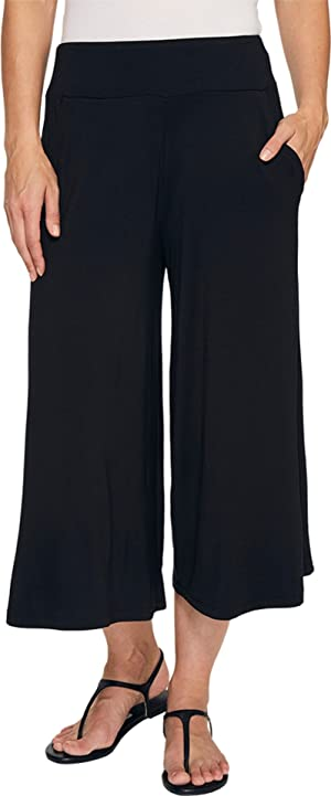 Threads 4 Thought Women's Jetta Culotte Black Pants