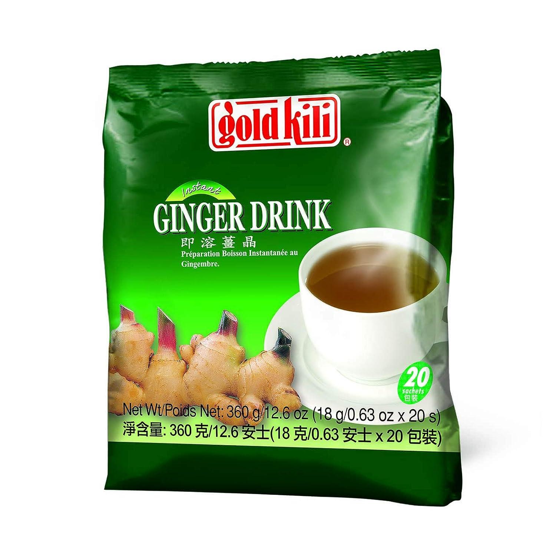 Gold Kili Instant Ginger Beverage, 12.60 Ounce