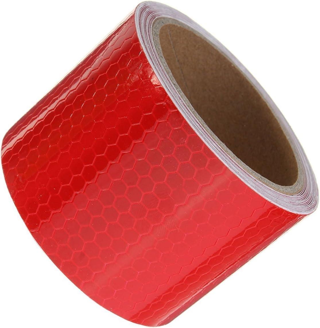 banda catarifrangente di sicurezza Tuqiang/® Nastro adesivo di avvertimento 5/cm x 3/m