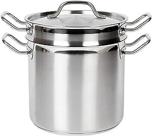 Thunder Group Stainless Steel Pasta Cooker, 12-Quart