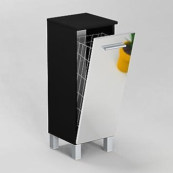 Gabi Sn1 40 Badezimmerschrank Mit Wäschekorb Korpus