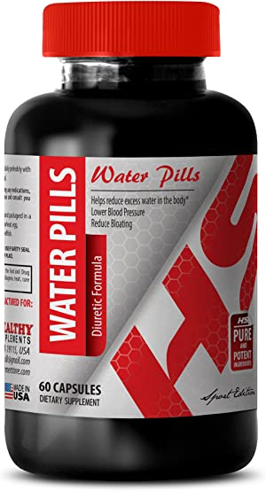 Dandelion Extract Capsules - Water Pills Diuretic Formula - Promote Weight Loss (1 Bottle)