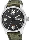 Citizen Herren-Armbanduhr XL Analog Quarz Nylon BM8470-11EE