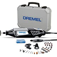Dremel 4000 Rotary Tool 175W Multi Tool Kit (3 Attachments, 36 Accessories, Variable Speed 5,00035,000 RPM for Cutting…