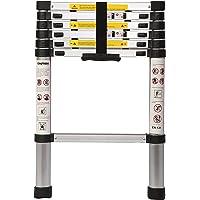 SAYSHA Portable Ultra-Stable Aluminium Folding Telescopic Ladder 2 Meter (6.5 ft)