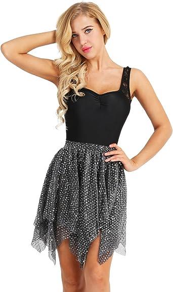 Tutu Black and Paillettes skirt